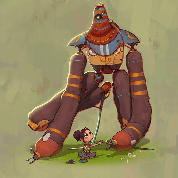 #Marchofrobots2015 on Behance