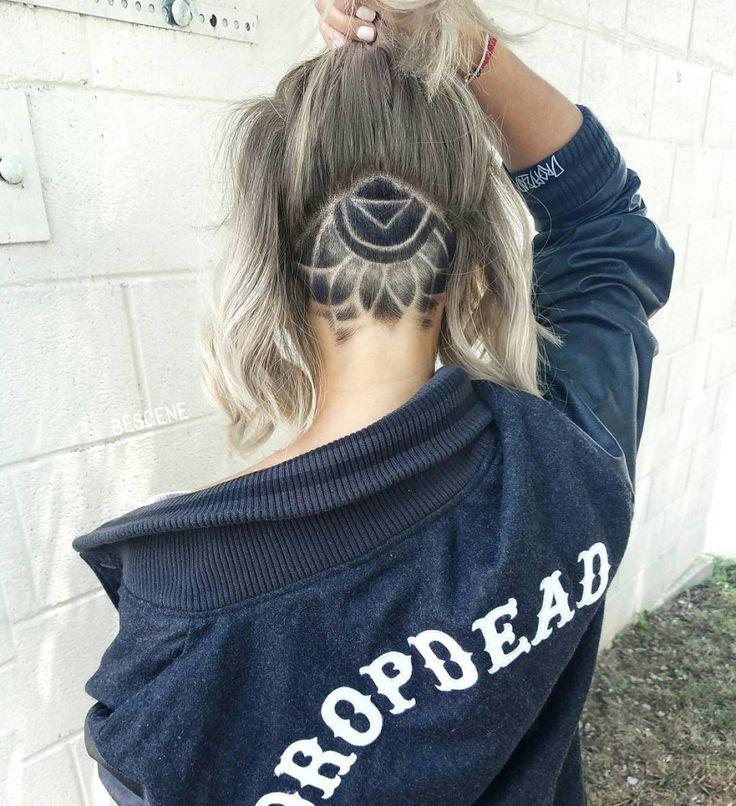 The Newest Intricate Undercut Hair Tattoo Trend                                                                                                                                                                                 More