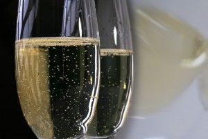 Champagner oder Sektsorbet