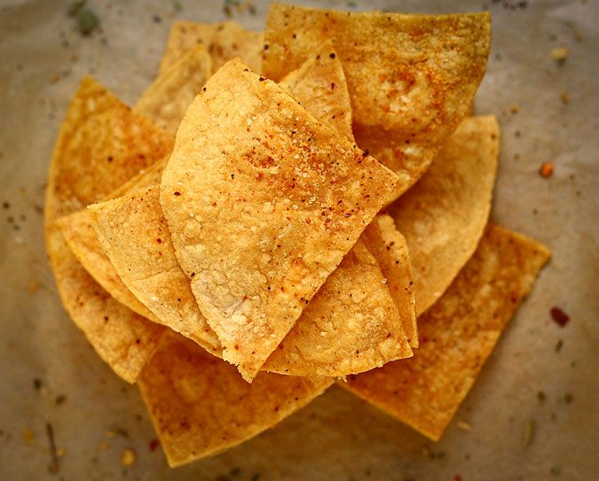 baked tortilla chips that taste just like the real deal. actually better.