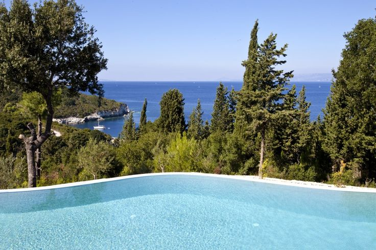 Iremia - romantic hideaway villa with pool on Antipaxos