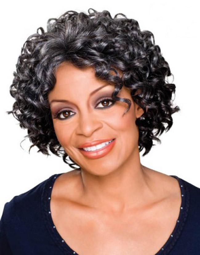Hairstyles For Black Women Over 50 Pinterest Curly Hairstyles