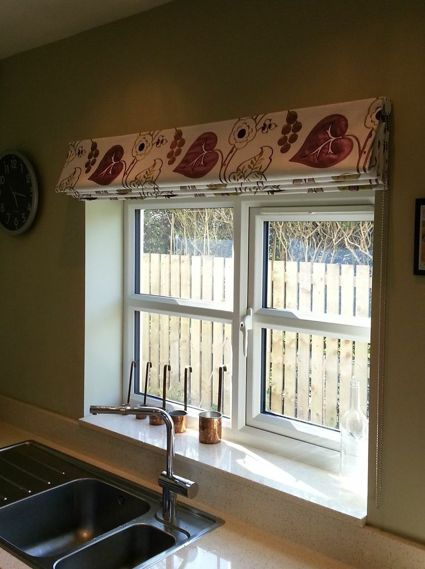 Place a roman blind outside the recess to maximise the for Blinds outside recess