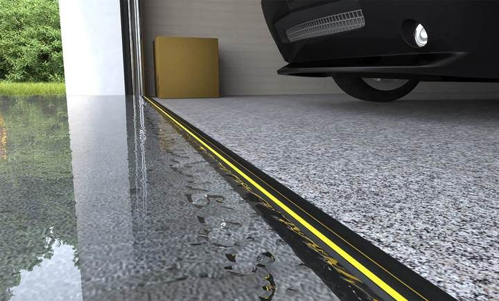 In 2020 Garage Door Seal Garage Doors Garage Door Threshold Seal