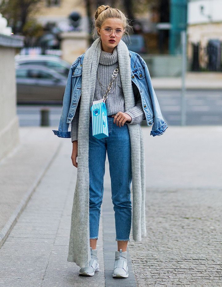 13 Cold-Weather Dressing Tricks From Russia Fashion Week Street Style via @WhoWhatWearUK
