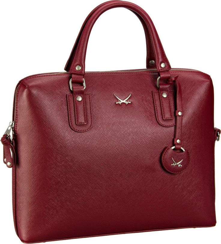 Sansibar Sansibar Chic Business Bag Merlot - Aktentasche