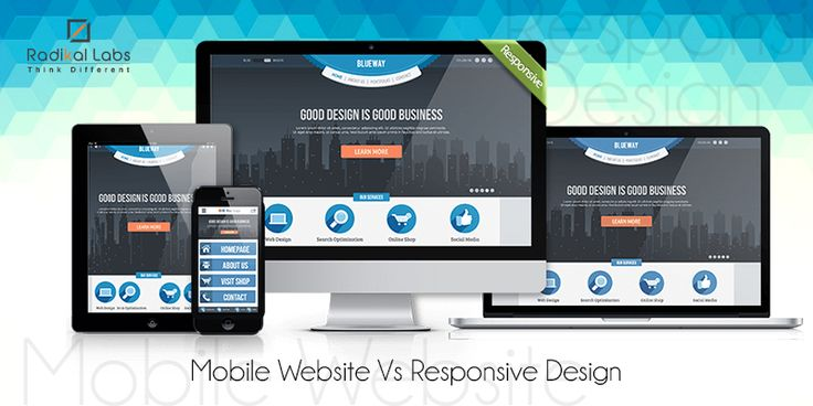 Mobile Website or Responsive Design: What's The Best Choice?