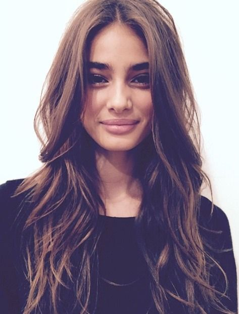 Brilliant 1000 Ideas About Brunette Long Layers On Pinterest Balayage Short Hairstyles For Black Women Fulllsitofus