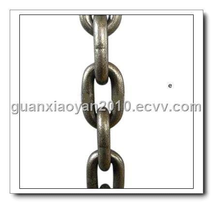 mining round link chain (DIN22252) - China crane chain, MAJISHAN