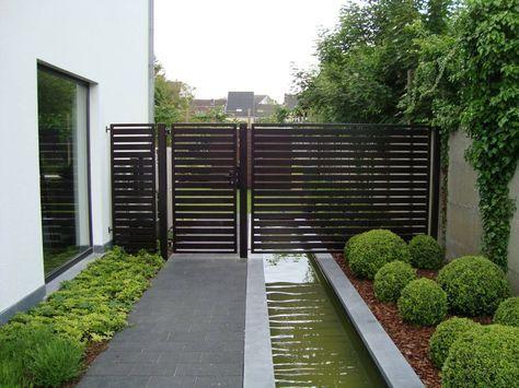 Image result for moderne hoog poort