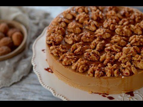 Tarta de nueces y caramelo. Receta - YouTube