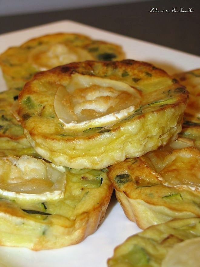 Quetzetten ohne Nudeln mit Zucchini und Ziegenkäse
