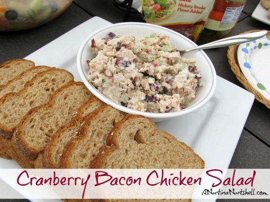 Cranberry Bacon Chicken Salad recipe
