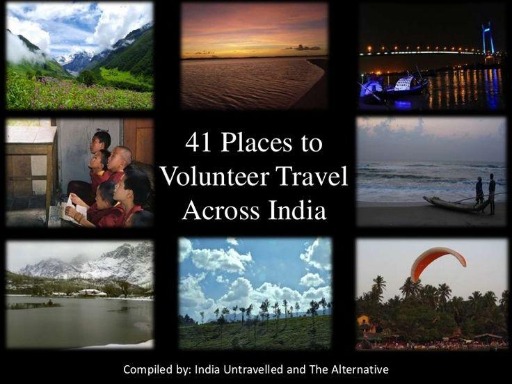 volunteer-travel-in-india by India Untravelled via Slideshare