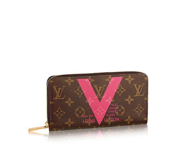 #M60936 Louis Vuitton Monogram Canvas Zipper Wallet