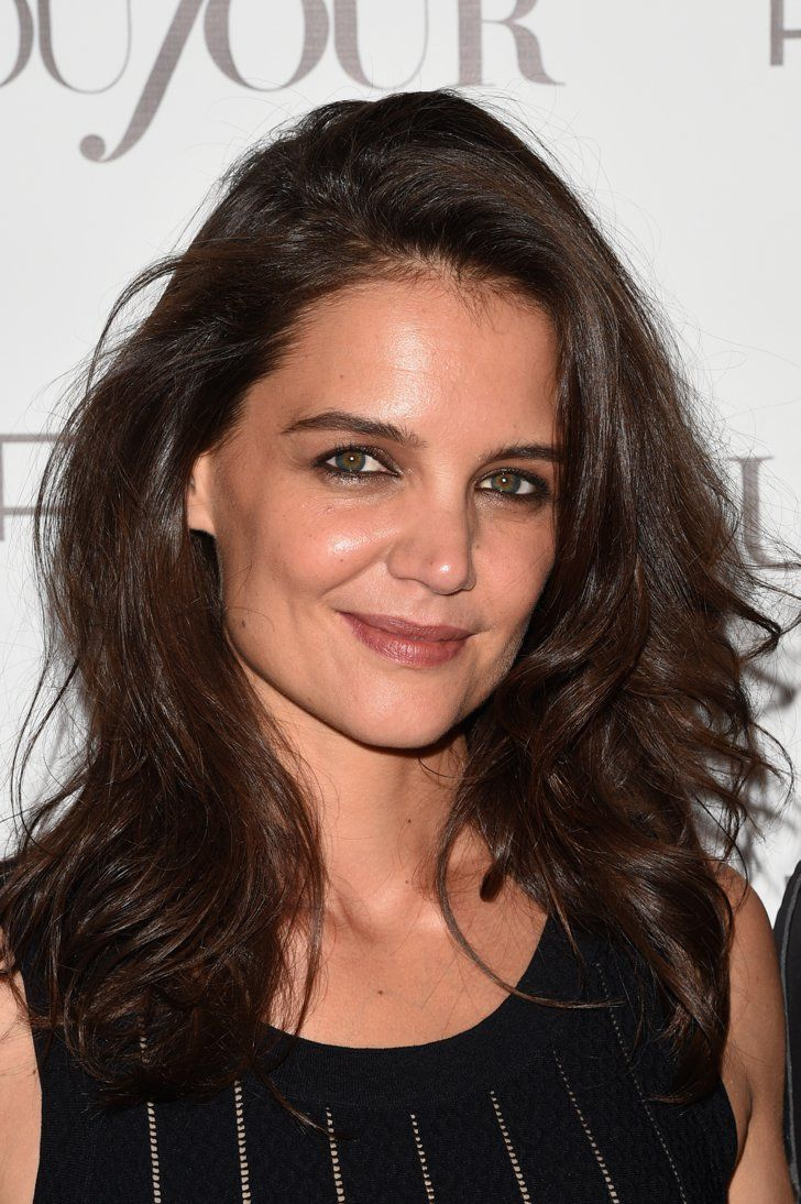 Pin for Later: Katie Holmes on Getting Long Hair and Embracing the Normcore Trend