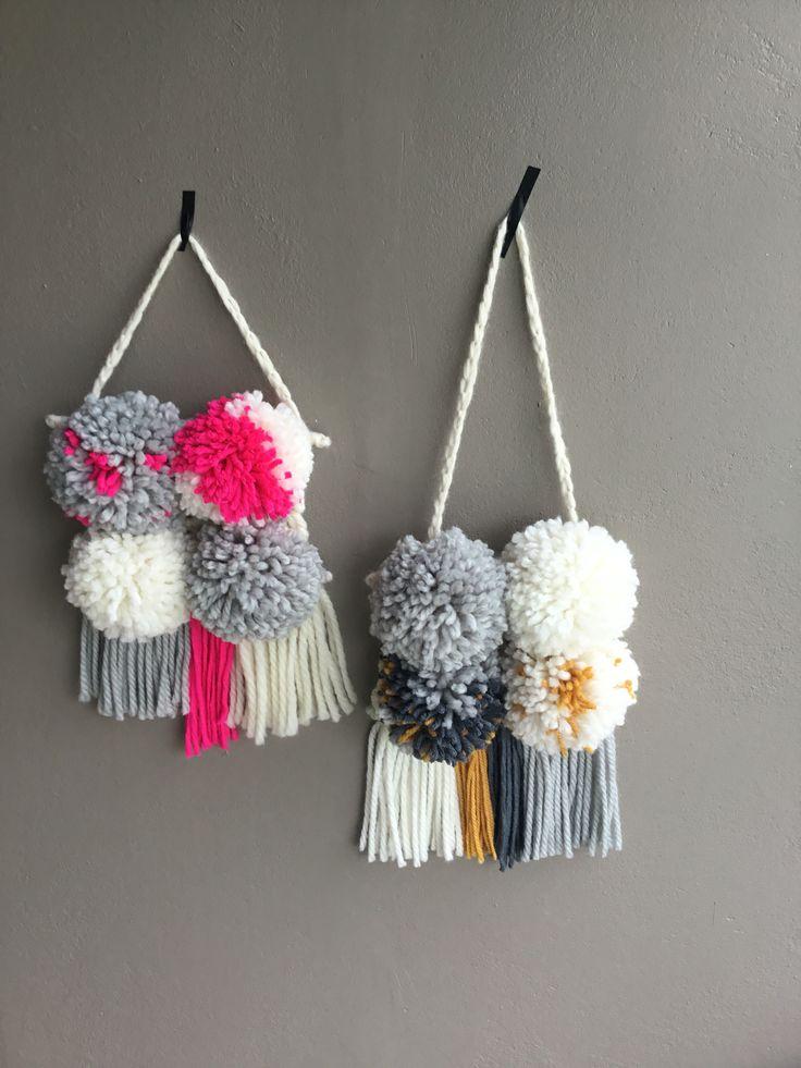 Weaving Pom Poms
