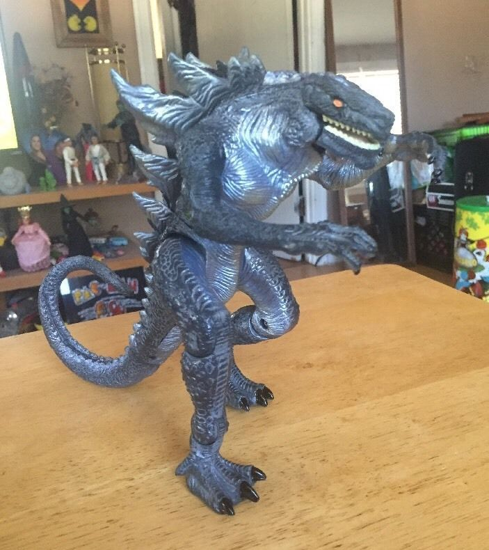 "Godzilla TOHO 1998 Trendmasters battery operated movie Action Figure 8"" Toy FOR SALE • CAD 33.32 • See Photos! Money Back Guarantee. This guy was roaring when I got him. Doesn't now. Probably just needs batteries. In nice overall shape. Displays well. Please refer to photos. Selling as is!!! 262582169342"