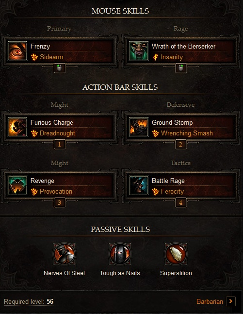 The Best Diablo 3 Barbarian Builds