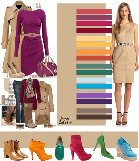 sand: color combinations