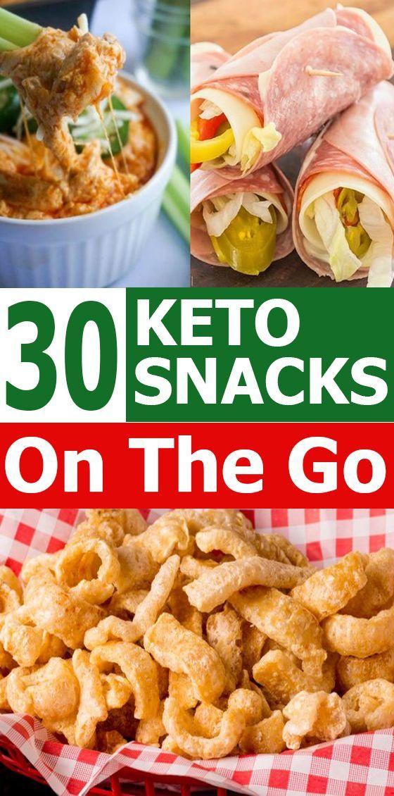 30 Keto Snacks für unterwegs