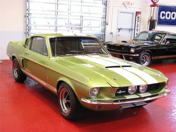 the 1967 Shelby GT 500 was the first road going Mustang with Ford's 428-cid V-8 and showed that sports car philosophy and muscle car attitude were compatible...