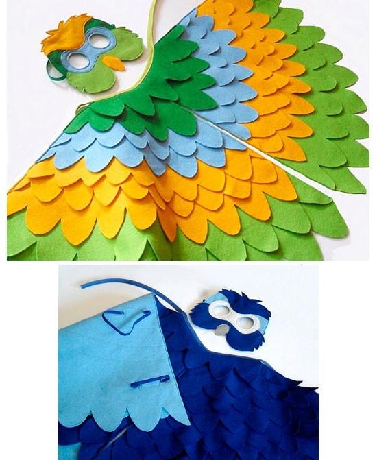 Disfraz de pájaro - BHBKidstyle en Etsy