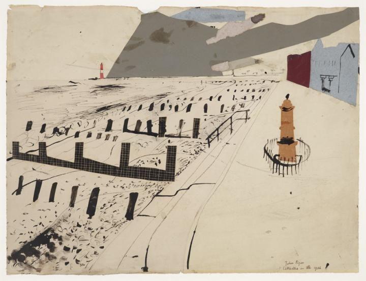 John Piper Littlestone on Sea, 1936 – Collection Database – Kettle's Yard