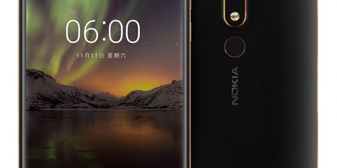 Nokia 6 2018 With 5.5-inch Display, SD 630, 16MP Camera, 4GB RAM Announced