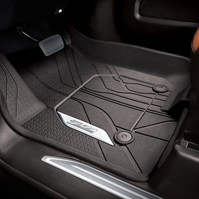 Front Row Floor Liner Package In Atmosphere Floor Liners Chevy