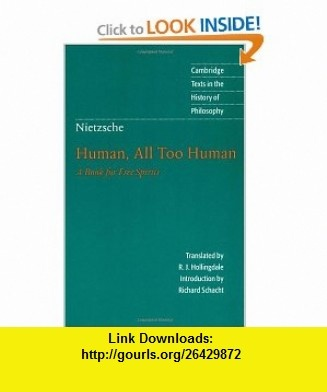14 best ebook torrents images on pinterest pdf tutorials and nietzsche human all too human a book for free spirits cambridge texts in the history of philosophy 9780521567046 friedrich nietzsche r j hollingdale fandeluxe Image collections