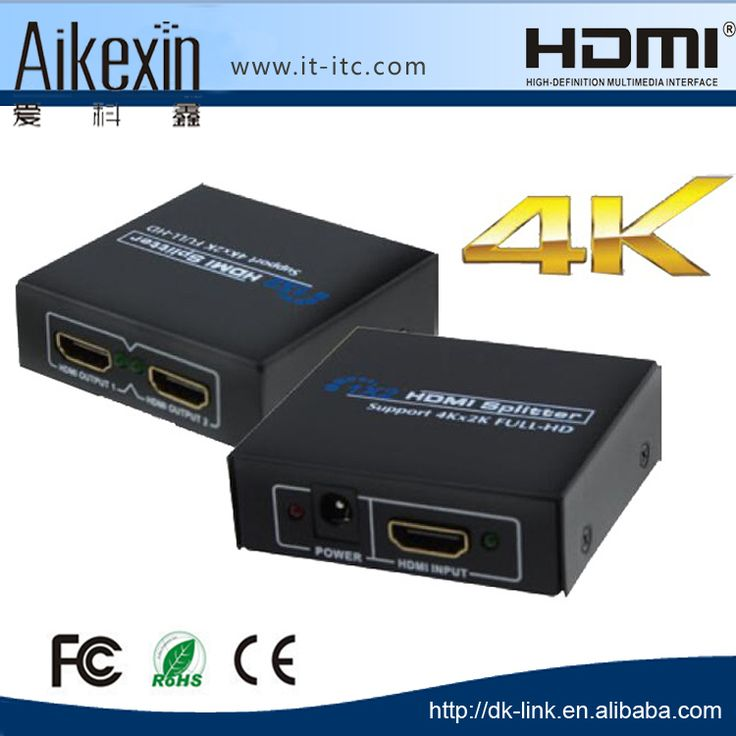 Check out this product on Alibaba.com App:2 Port 1x2 Full HD 4K 1080P HDMI Splitter 1.4 Video Audio Amplifier 3D https://m.alibaba.com/2iAFvu