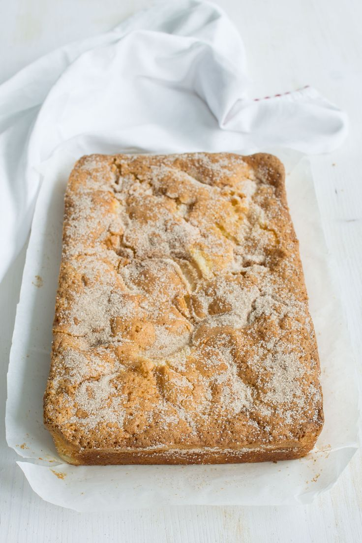 Cinnamon Spiced Pear Cake, the perfect recipe for all your Fall related cake cravings! From Lauren Caris Cooks