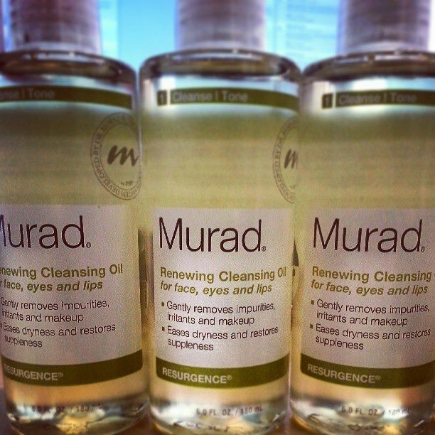 Did you know: When using oils for cleansing, oil and dirt on the skin attach to the oil in the cleanser, and when rinsed off, it results in clearer, unclogged pores.  Renewing Cleansing Oil! It gently but effectively removes dirt and makeup while restoring suppleness and easing dryness