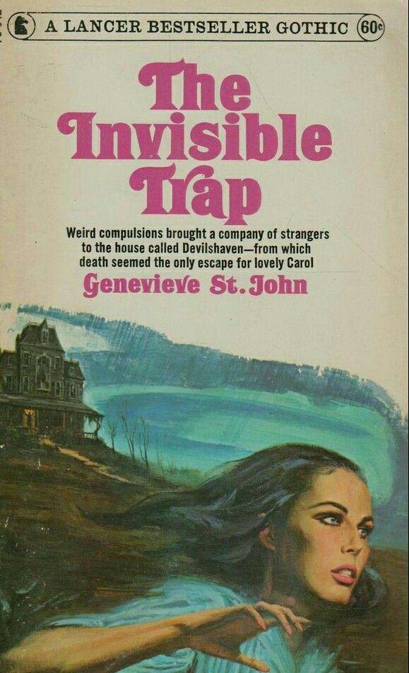 Lancer Books 1967 Gothic Romance Books Gothic Books Horror Book Covers