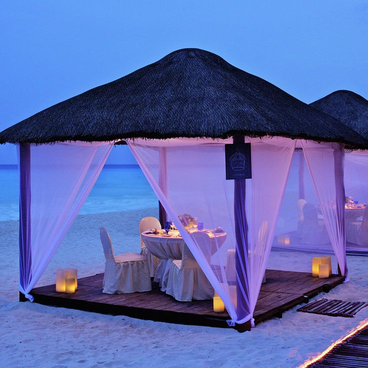 ¿Anhelando está cena romántica en Cancún?  #Ideas #SweetHoneyMoon