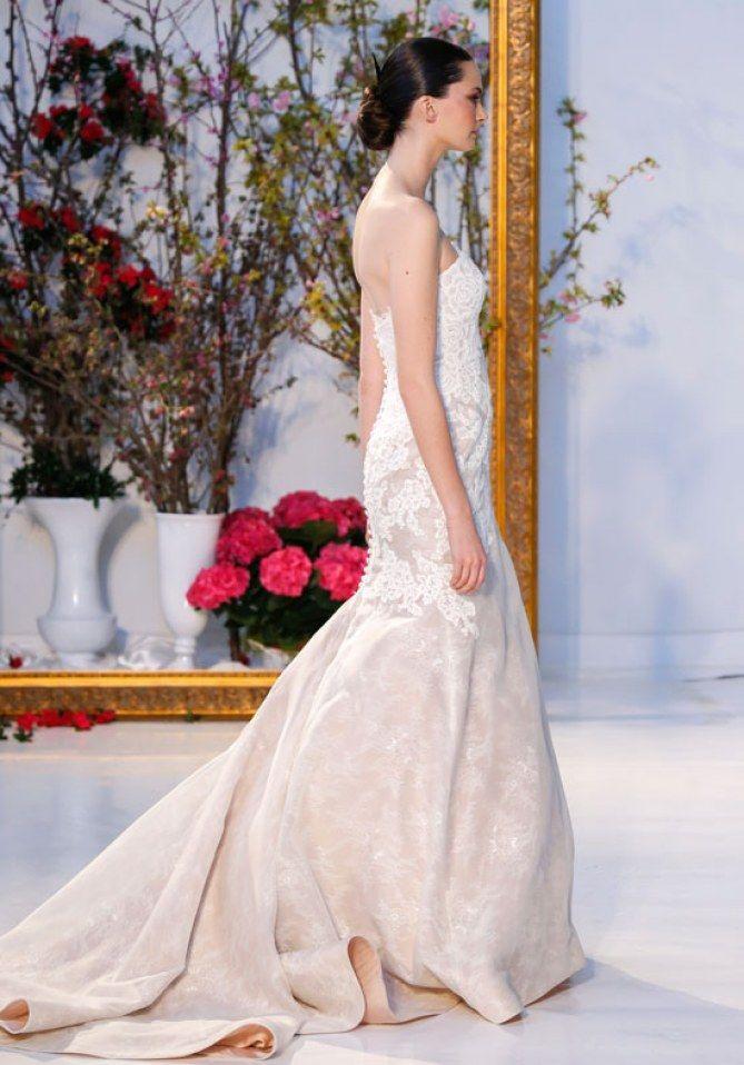 Robe de mariée sirène nude, Anne Barge
