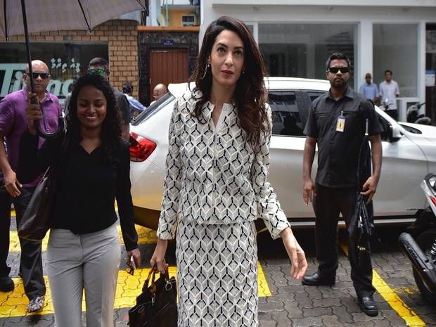 Amal Clooney heads international effort to free former Maldives president Mohamed Nasheed from jail - News - People - The Independent