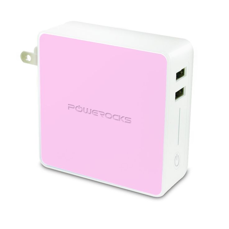 POWEROCKS Tetris 2 6000mAh Universal Extended Battery, Pink