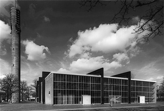 "Church ""Maria Regina"" (1960) in Boxtel, the Netherlands, by Jan Strik"