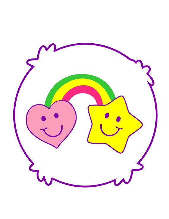 Care Bear Tummies Collection 1 10 Bears Svg Pdf Png File Care Bear Care Bear Costumes Make Your Own Costume