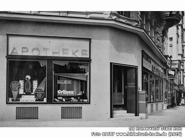 Hansa-Apotheke, Ebertplatz 7, 50668 Köln - Neustadt-Nord (1925)