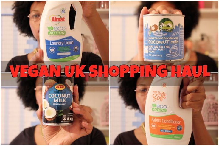 YET ANOTHER UK VEGAN SHOPPING HAUL | LONDON AFRO VEGAN