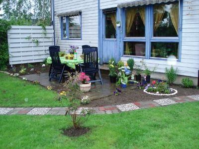 camino de grava jardín