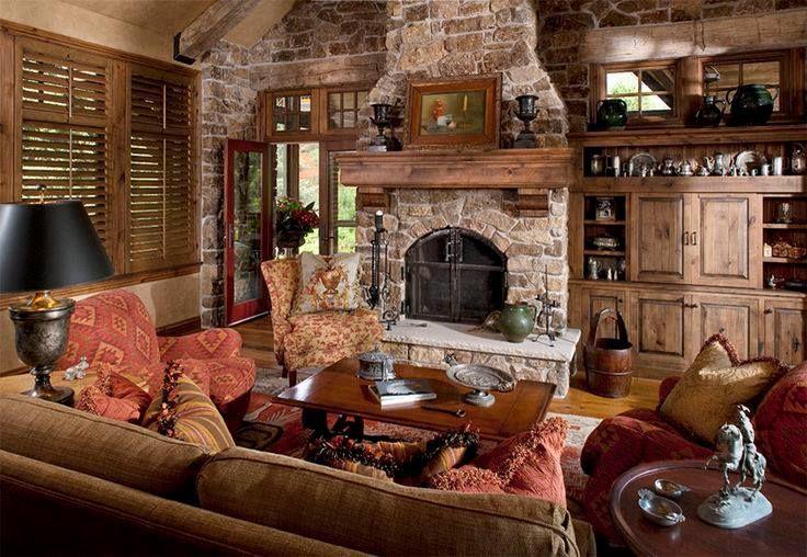 Family Room Decorating Ideas Rustic