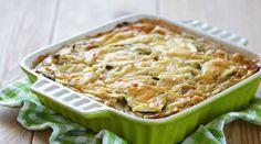 Лазанья из курицы и кабачков: пошаговый фото-рецепт