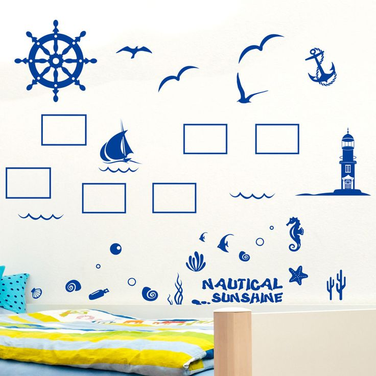 Mediterranean Sea vinyl wall sticker