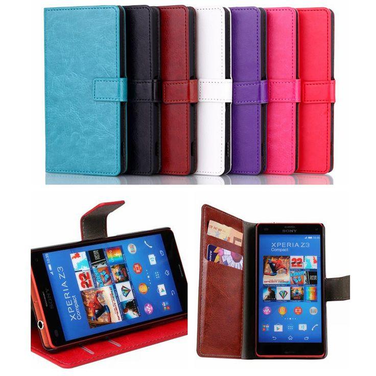 New Luxury Leather Wallet Magnetic Flip Cover Stand Case for Sony Xperia Z2 Z3 Z5 Compact Z1mini Z3mini M2   Price: US $5.99   http://www.bestali.com/goto/32266369159/10