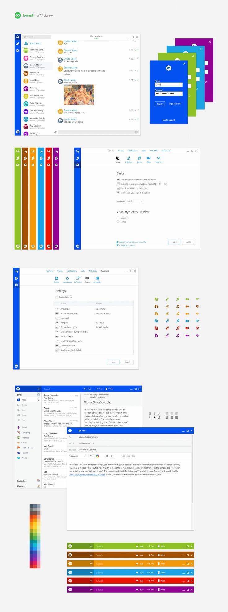 Download Windows UI kit for Sketch and Photoshop https://icons8.com/wpf