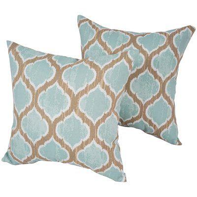 Blazing Needles Indoor/Outdoor Throw Pillow